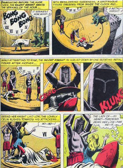 dc comics history  silent knight
