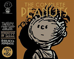 Peanuts Comic Books on Fantagraphics Books The Complete Peanuts 1955 To 1956 Reprints The