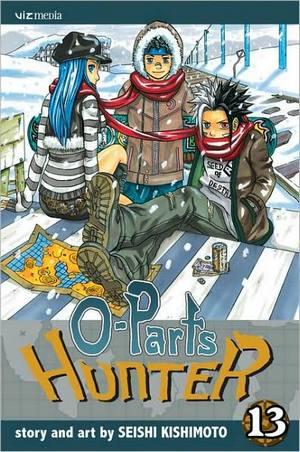 Seishi Kishimoto's O-Parts Hunter Opartshunter13