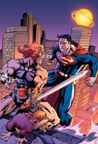 Superman Thundercats on Superman Thundercats  No  I M Not Kidding